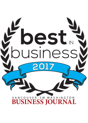 Dick Hannah Best in Business award - Vancouver Business Journal 2017
